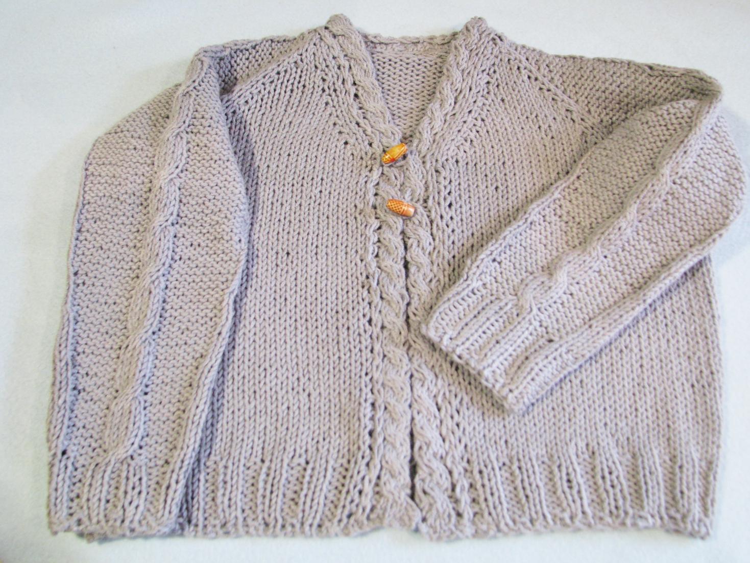 Chaquetina de Domingo: patrón de chaqueta para nene | El blog de tejeme