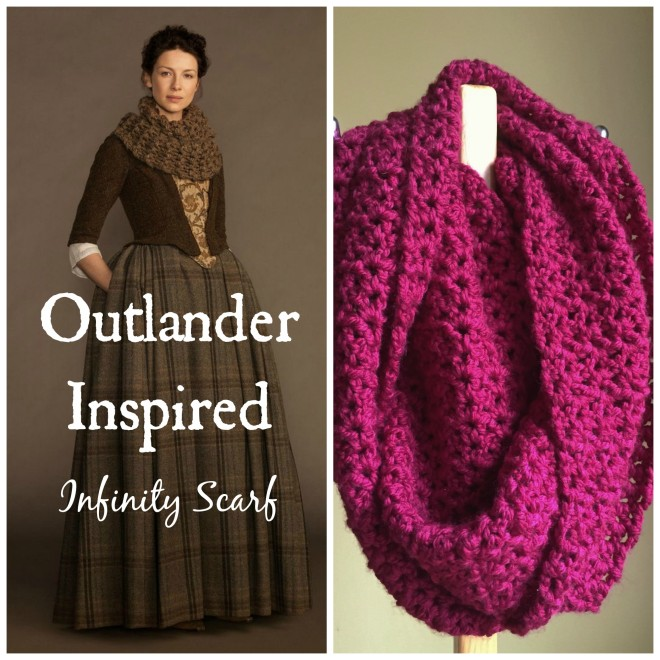 Outlander ropa de lana en series de tv
