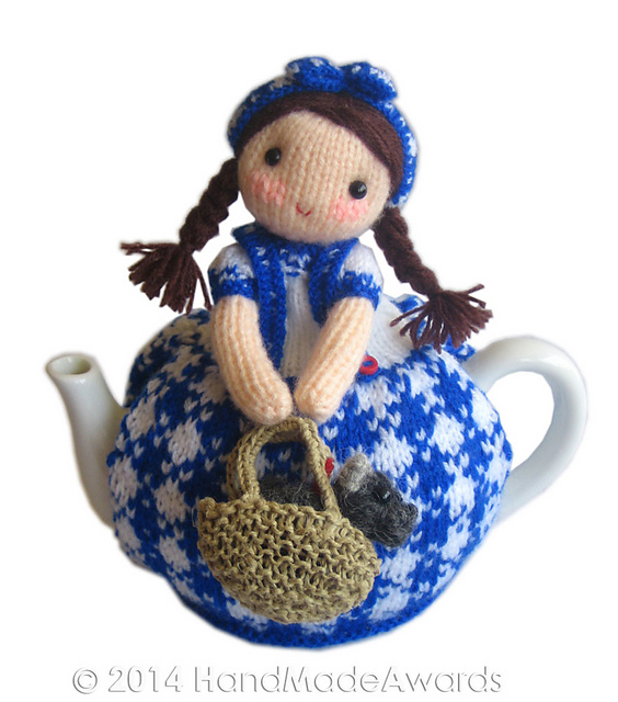 Dorothy and Toto Tea Cosy