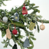 Holiday Cheer Ornaments by Kate Gagnon Osborn
