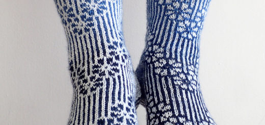 junjunjun's Call Them Cherry Blossoms, Ravelry Image