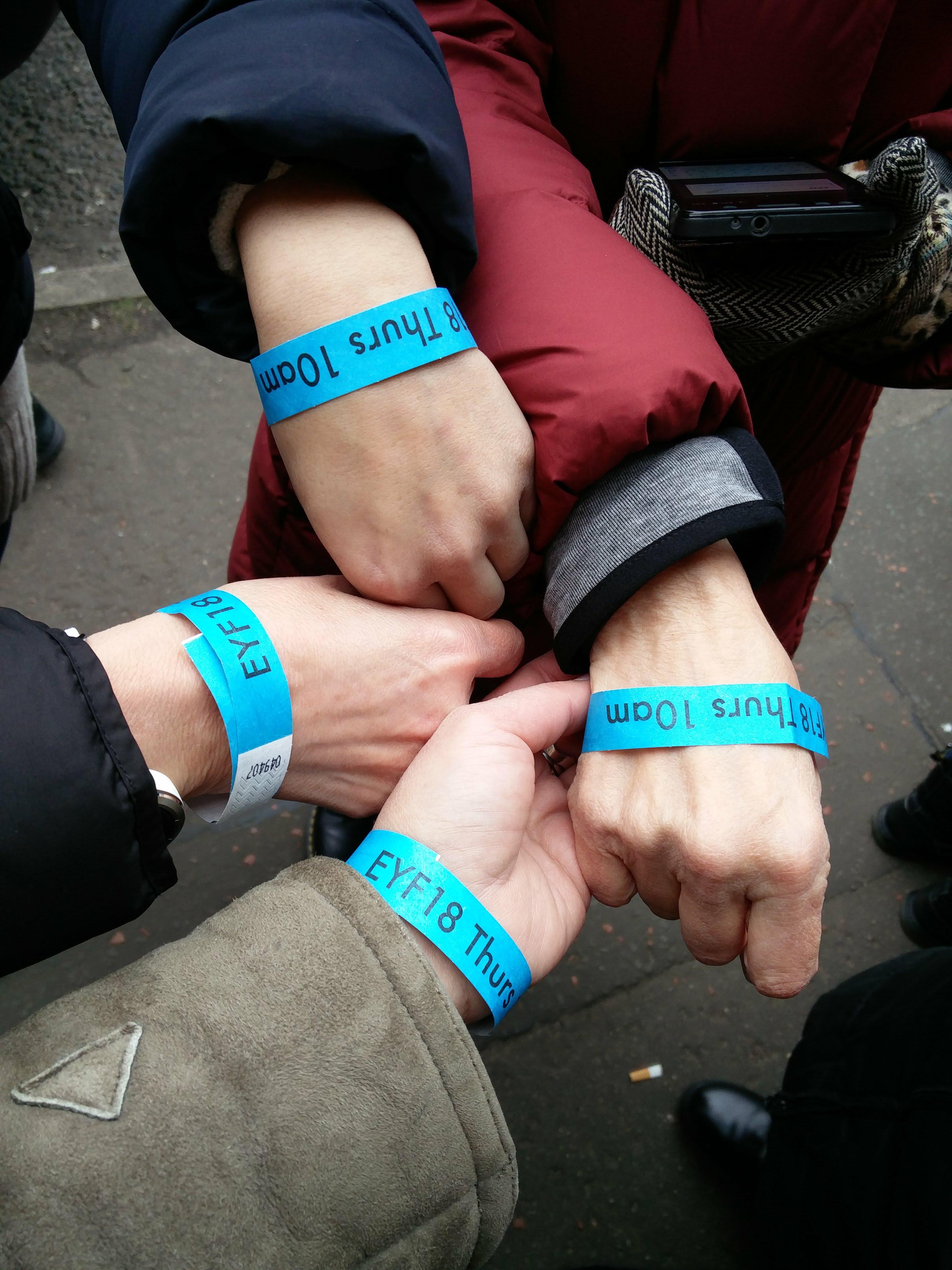 EYF Wrist Bands